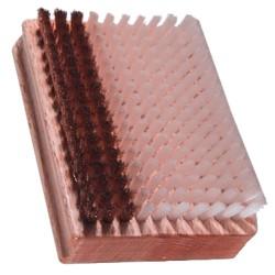 Perie mixta bronz-plastic