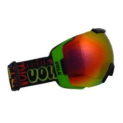 Ochelari schi si snowboard Vola Fast Green