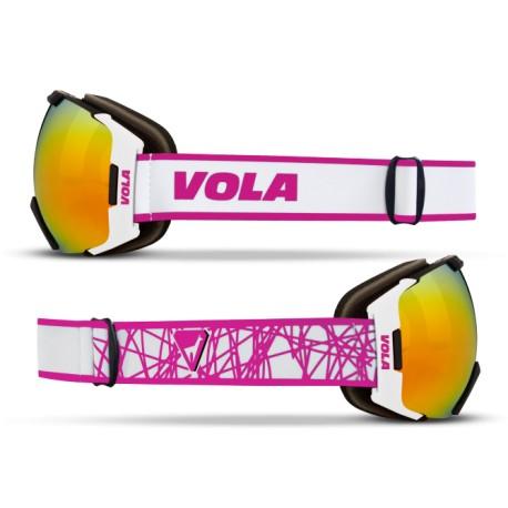 Ochelari schi si snowboard Fast Pink